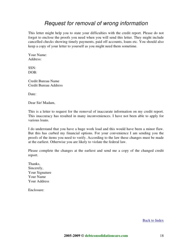 Sample letter to request removal from credit report invsite sample letter requesting credit report thedoctsite co spiritdancerdesigns