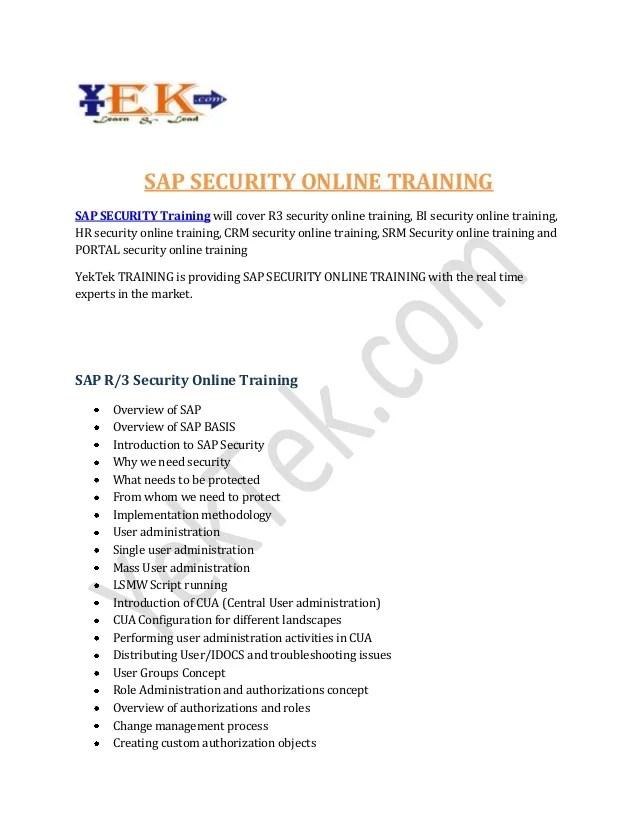It Security Courses Online