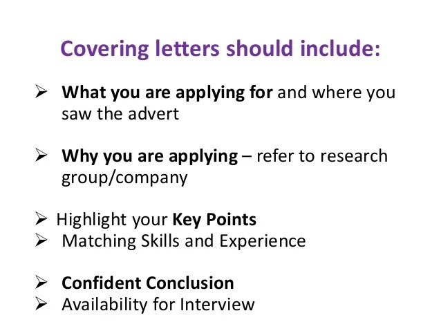 Resume How To Write Cover Letter Postdoc Cv