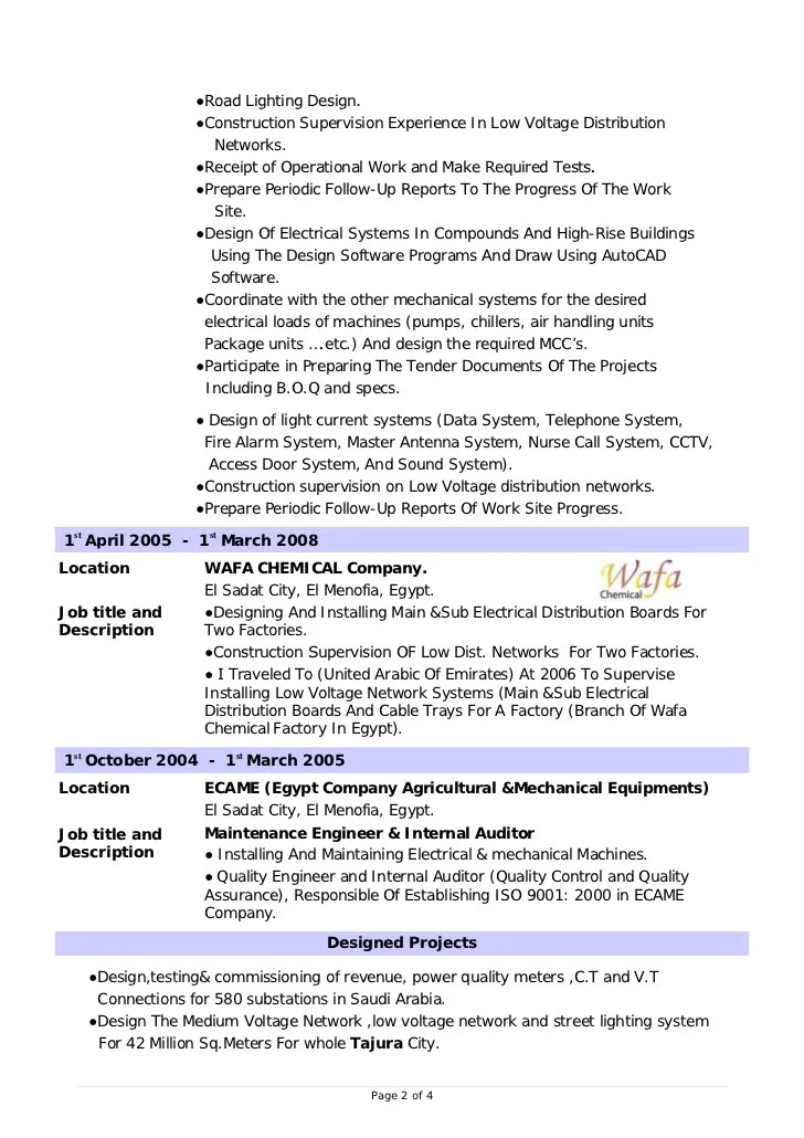 sle resume for power plant manager persepolisthesis