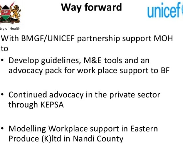 11 Way Forward With Bmgf Unicef