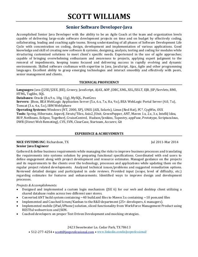 sample resume for fresher java developer resume sample waiter