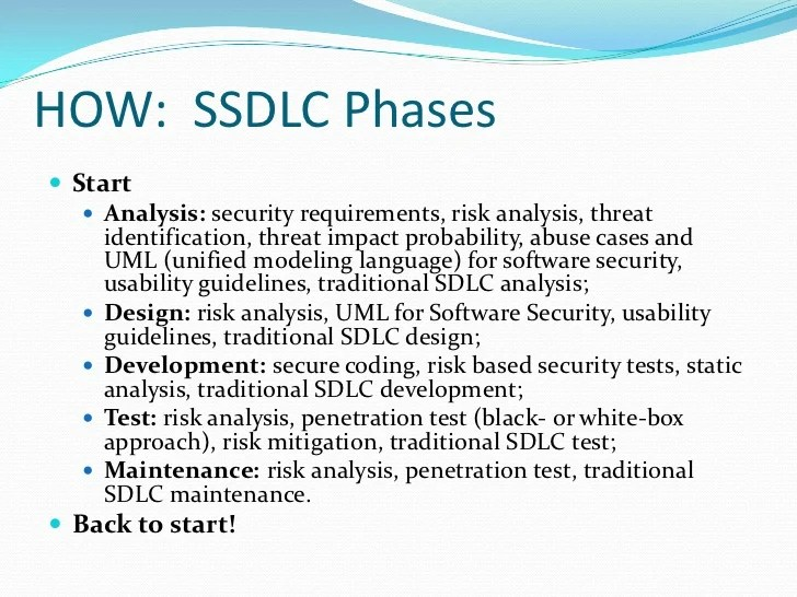 Methodologies Information Security