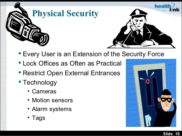 Physical Security Training