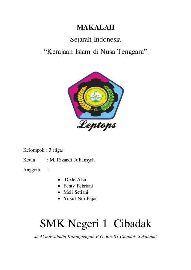 Download Contoh Makalah Islam