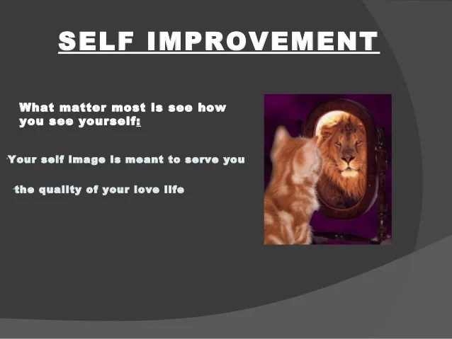 Self Improvement Other Words