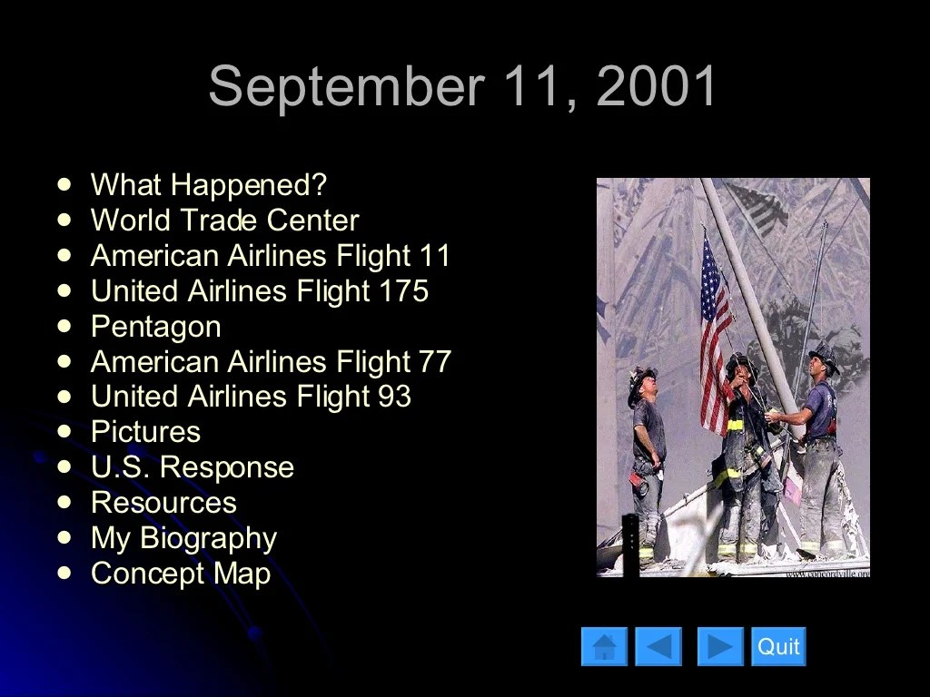 September 11 What Happened