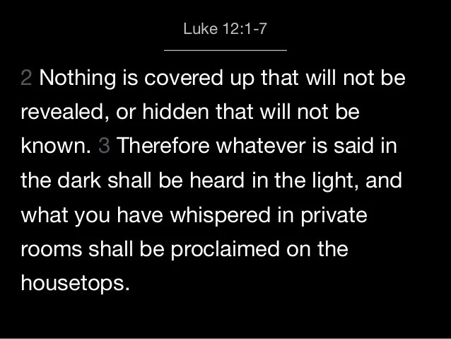 Image result for jesus for there is nothing hidden that shall not