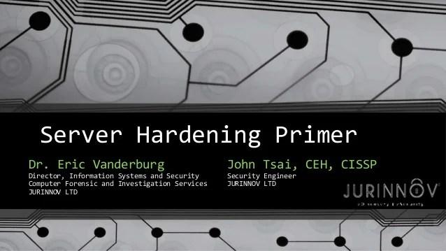 It Security Hardening