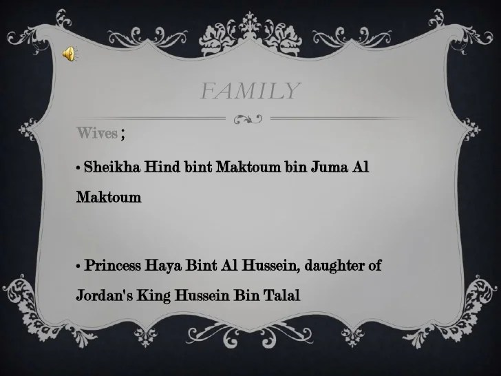 Juma Bint Hh Al Bin Maktoum Sheikha Maktoum Hind