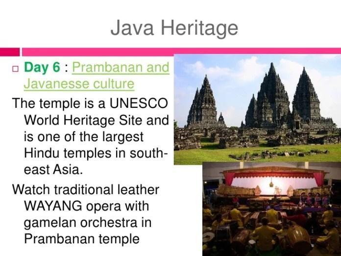 Indonesia Culture Description