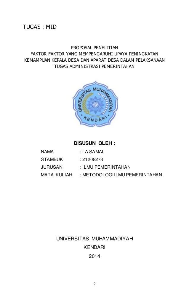 16 Skripsi Ilmu Pemerintahan Desa