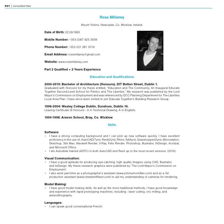 20 New Model De Curriculum Vitae