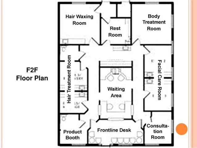 Hair Salon Floor Plans Free