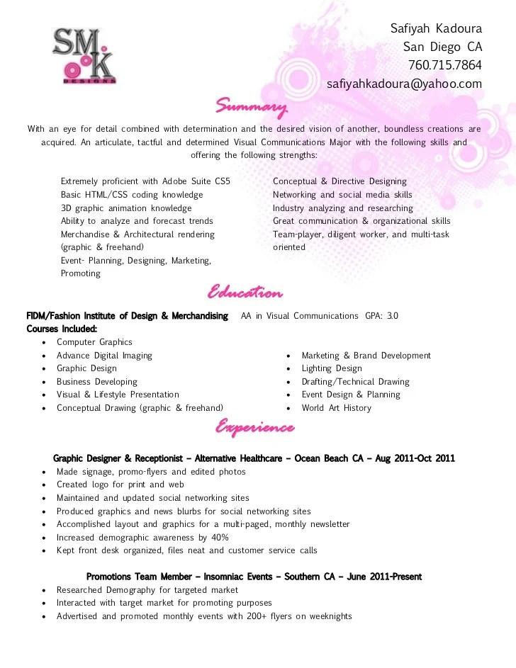 great sample resumes