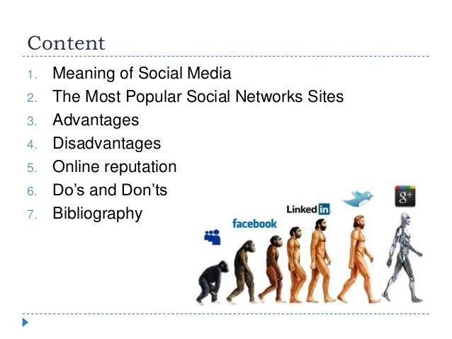Social media and online reputation