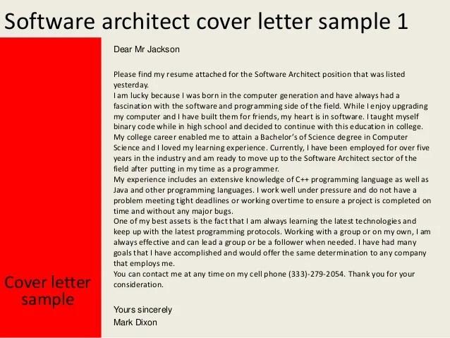 Software Architect Resume Net. software architect resume samples ...