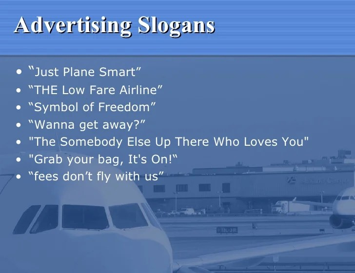 I Fly Southwest Airlines