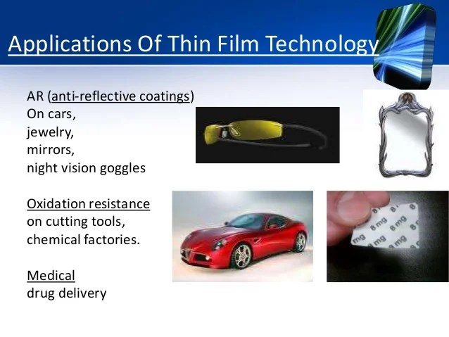 Thin Film Drug Delivery