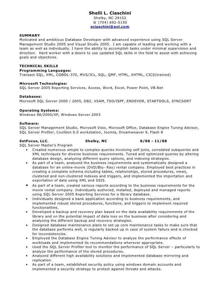 Resume For Software Developer In Java. nicolas pousset linkedin ...