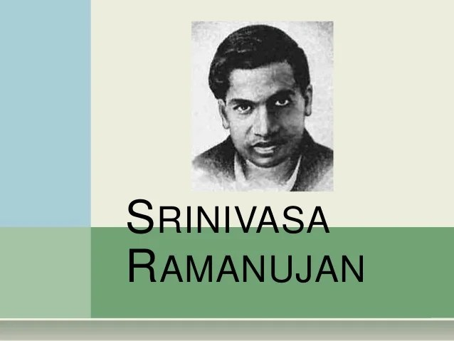 Image result for images of srinivasa ramanujan