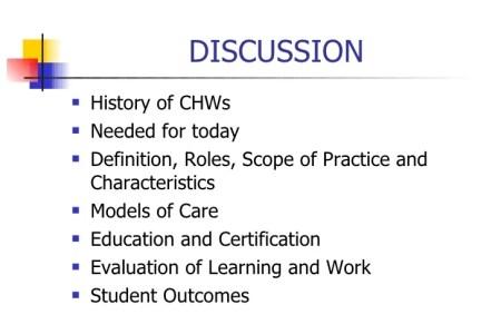 Free Resume Sample » community health worker certification | Resume ...
