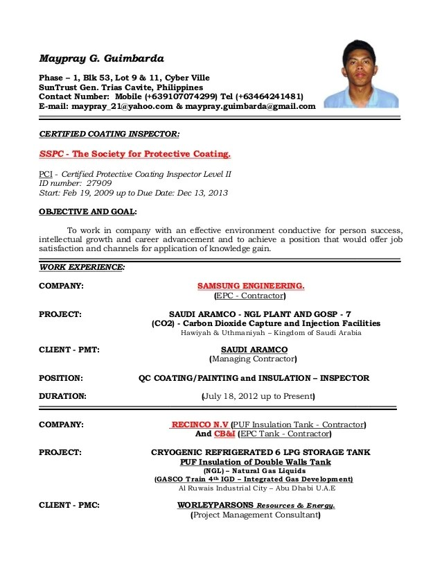Qa Qc Manager Resume. qc assistant resumes and cover letters ...