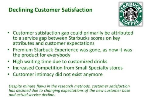 Starbucks, customer experience