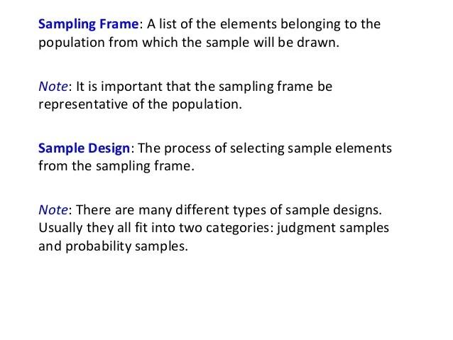 sampling frame in statistics | Frameswalls.org