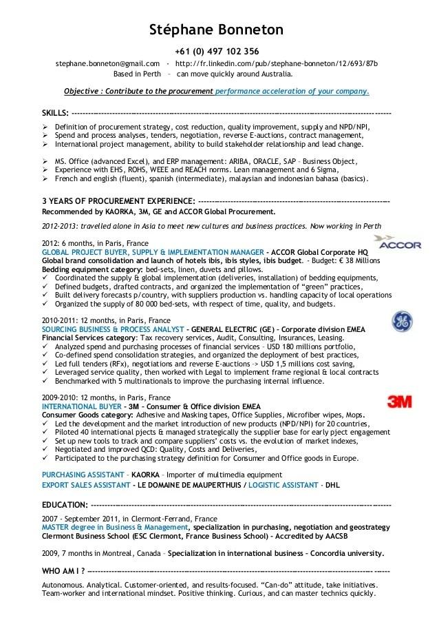 buyer resume 124226933 sample buyer resume sourcing analyst resume