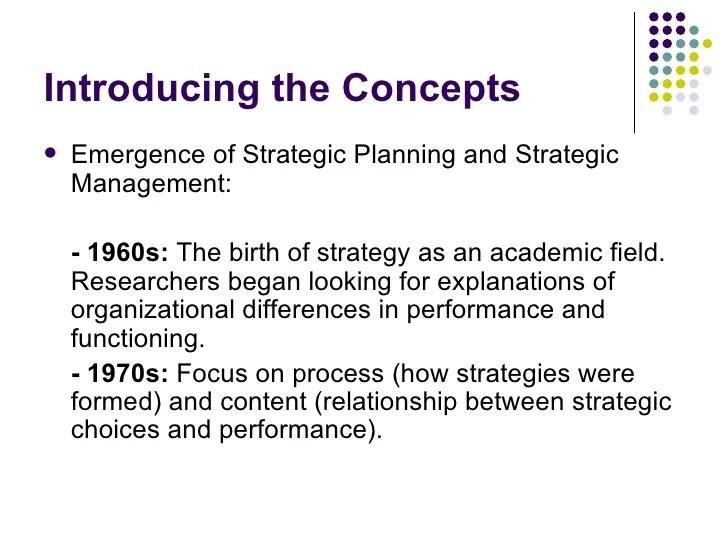 apple strategic planning process