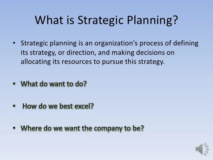 Strategic Plan Presentation Template  circle process for