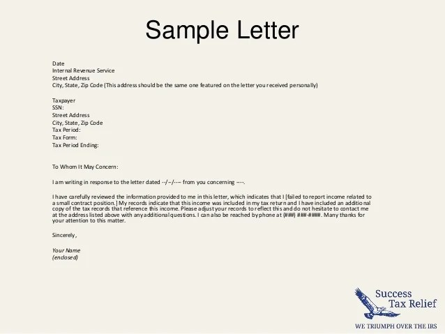 letter of explanation sample how to write a letter of explanation to