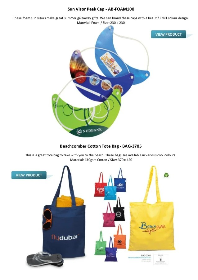 Summer Promotional Gifts Ideas for Your Advertising Campaign