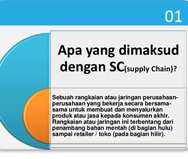 Supply Chainmanagement Scm   Apa Yang Dimaksud Dengan