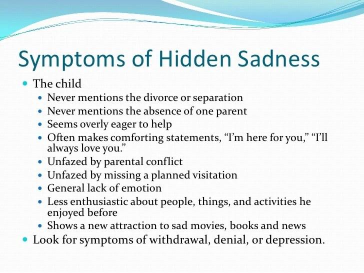 Depression after divorce