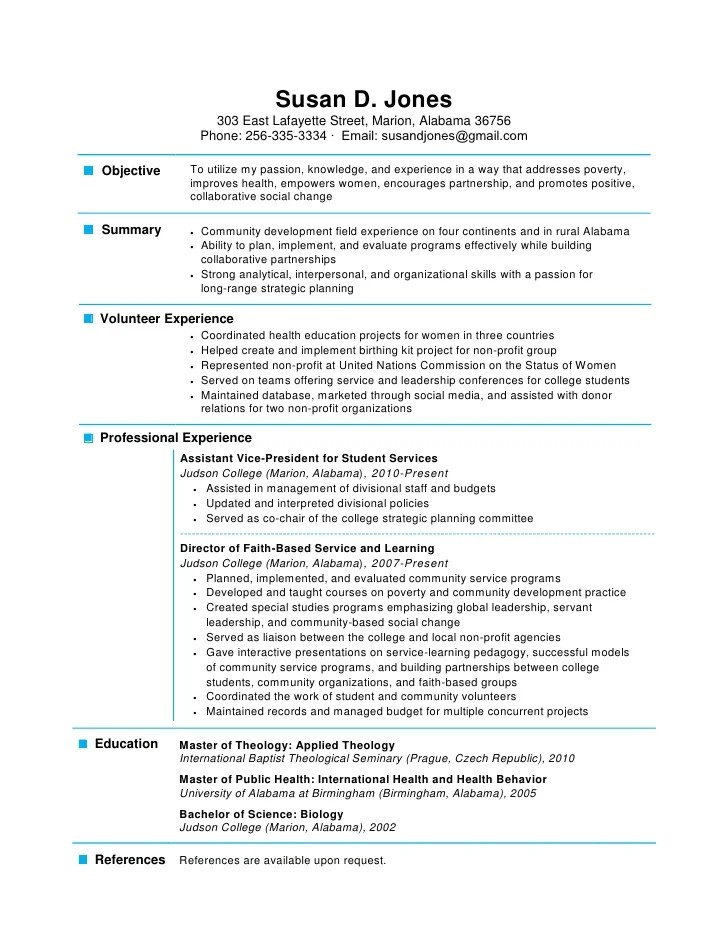 One Page Resumes. 41 One Page Resume Templates Free Samples