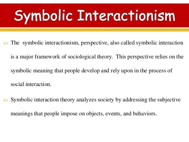 The Symbolic Interactionist Framework Views Society As Frameswalls