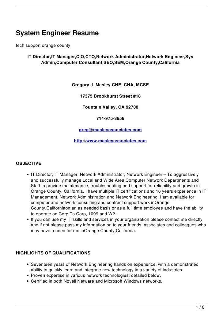 system engineer resume samples visualcv resume samples database letters system engineer resume sample