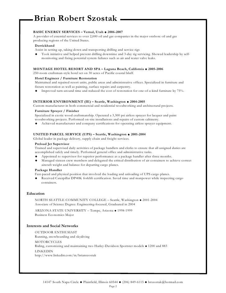 cable installer resume technician resume hvac technician resume ...