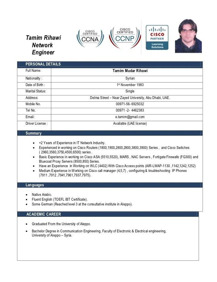 resume network engineer resume network engineer resume sample ...