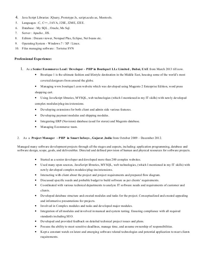 tanvi resume php