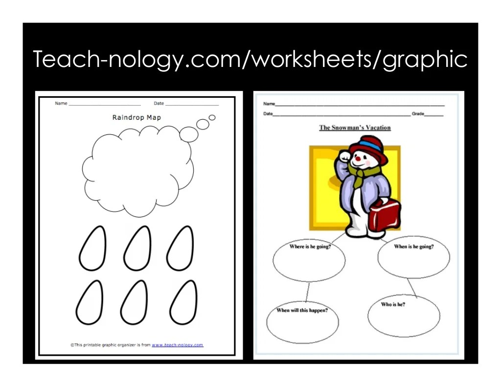 Teach Nology Worksheets Graphic