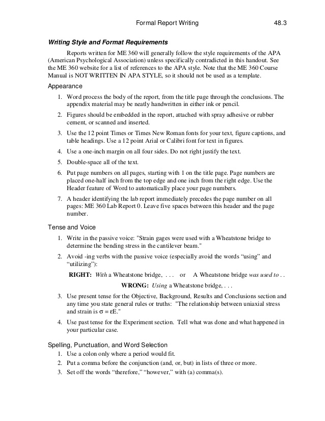 Sample Report Writing Template. Sample Business Report Writing