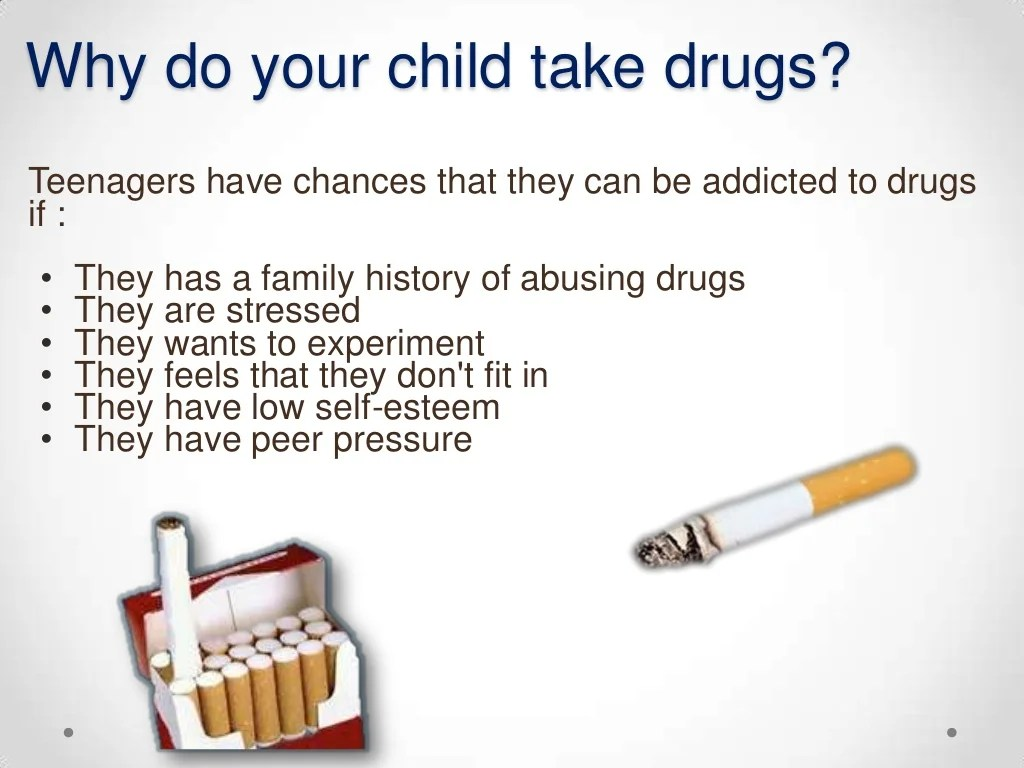Teenagers On Drugs And Alcohol