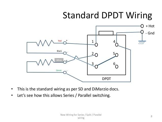 series parallel dpdt switch wiring diagram  pontiac sunfire