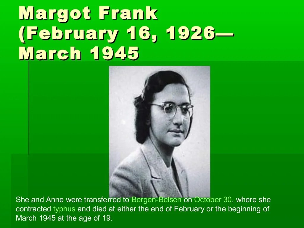 The Diary Of Anne Frank Power Point