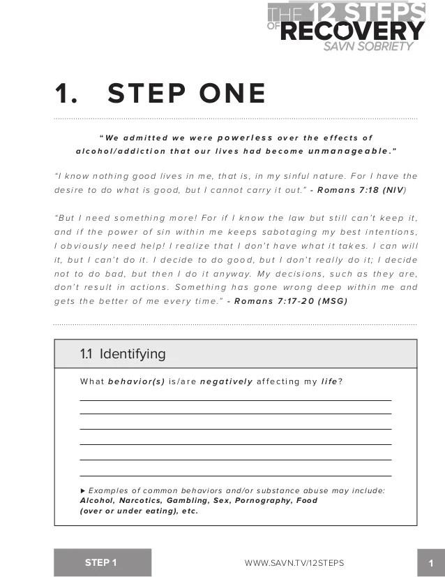Step Aa Worksheets One Printable