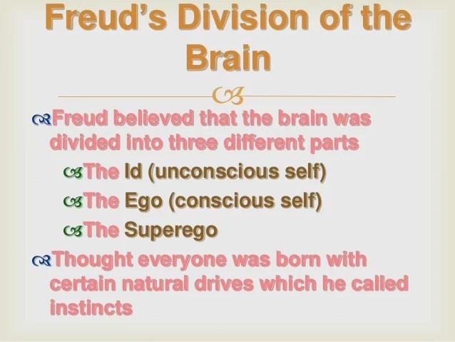 Freuds paychosexual stages of development