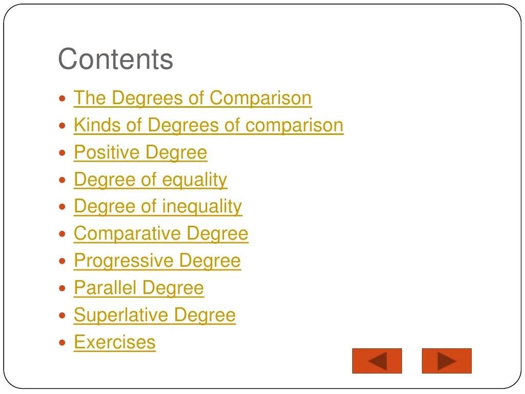 Contoh Degree Of Comparison Positive Comparative